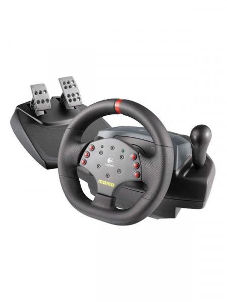 Руль игровой Logitech momo racing force feedback wheel - e-uh9