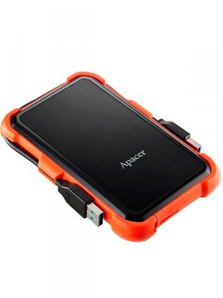 """HDD-внешний Apacer 1000gb 2,5"""" usb3.1 ap1tbac630t-1"""