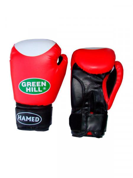 Боксерские перчатки - green hill boxing gloves hamed 10 oz bgh-2036-10