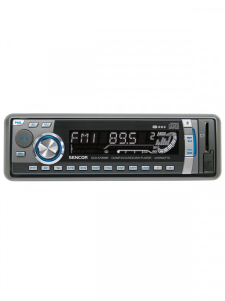 Автомагнітола CD MP3 Sencor scd-5705mr