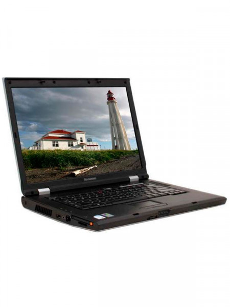 "Ноутбук экран 15,4"" Lenovo core duo t2300 1,66ghz/ ram1024mb/ hdd80gb/ dvd rw"