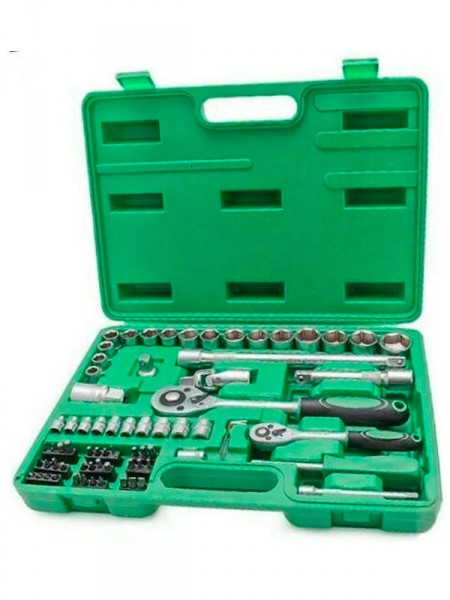 Набор инструментов Intertool et-6072 72 предмета