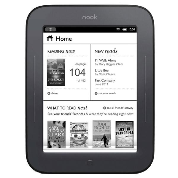 Електронна книга Barnes&noble nook bnrv300 wifi