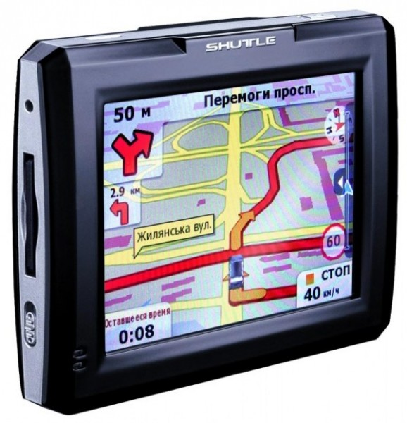 GPS-навигатор Shuttle pna-3502