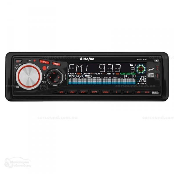 Автомагнітола CD MP3 Autofun mp-519ua