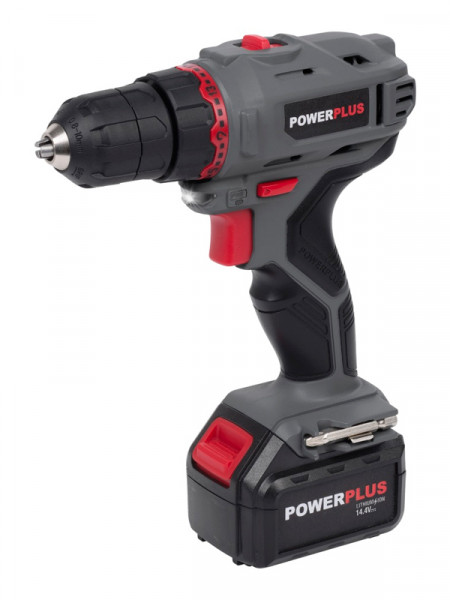 Акумуляторний дриль 14,4V Powerplus e-line powe00031