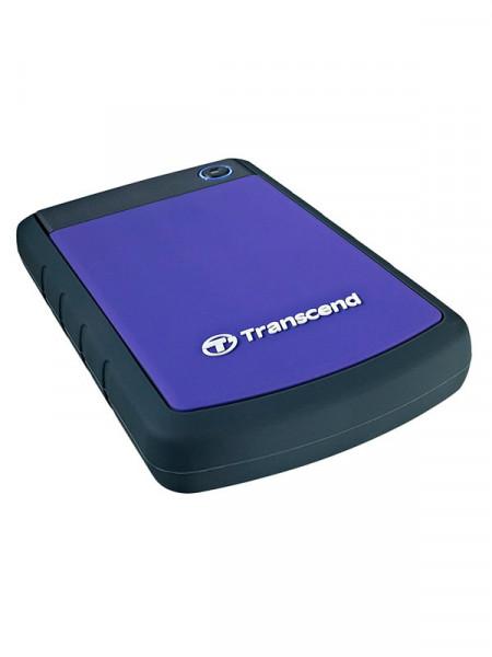 """HDD-внешний Transcend 1000gb 2,5"""" usb3.0 ts1tsj25h3p"""