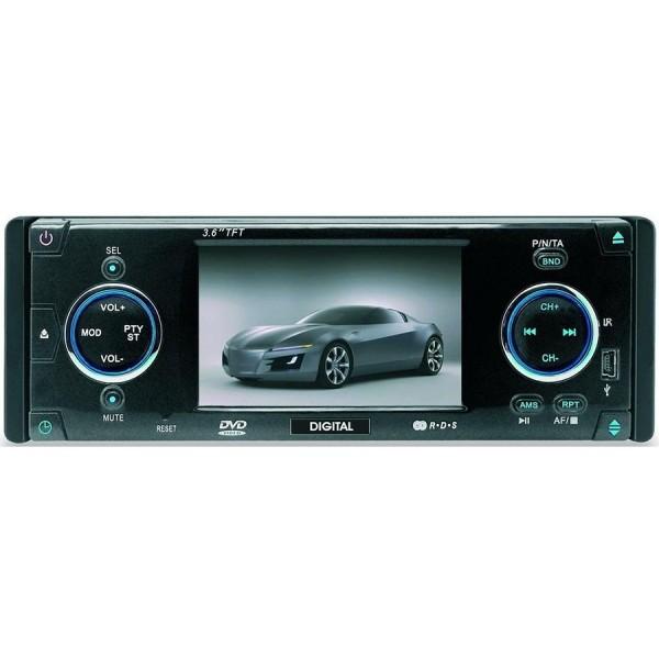 Автомагнитола DVD Digital dca-av 3600 r.