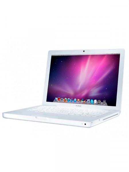 "Ноутбук экран 13,3"" Apple Macbook core 2 duo 2,00ghz/ ram 1gb/ hdd80gb/video intel gma950/ dvdrw a1181"