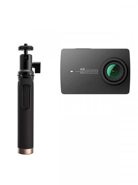 Відеокамера цифрова Xiaomi yi 4k action camera 2 travel international edition + remote control