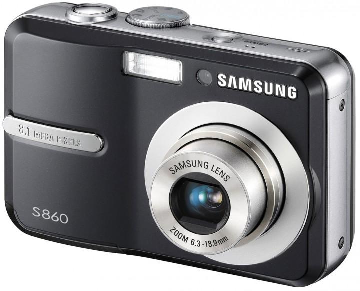 Фотоаппарат цифровой Samsung digimax s860
