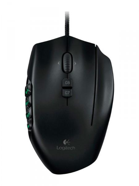 Мышка компьютерная Logitech g600 mmo gaming mouse 910-003623