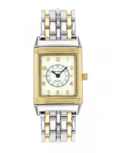 Годинник Jaeger-Lecoultre reverso cream dial steel yellow gold quartz ladies - mint 250,5,11