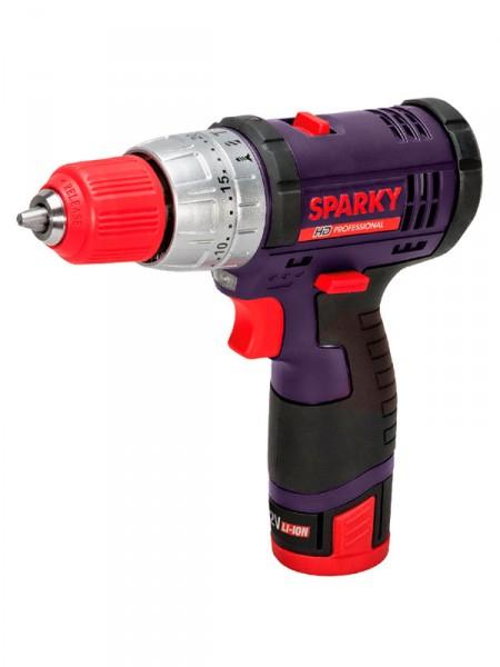 Акумуляторний дриль 12V Sparky bur2 12li-c hd 2акб li-ion 2.0ah