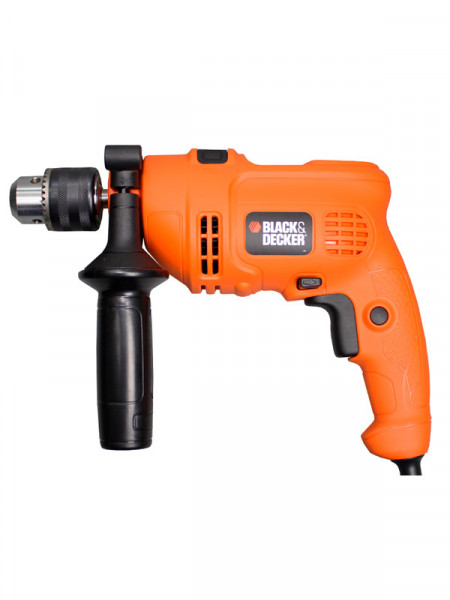 Дриль ударний до 500Вт Black&Decker kr504re