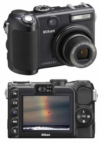 Фотоаппарат цифровой Nikon coolpix p5100 бу