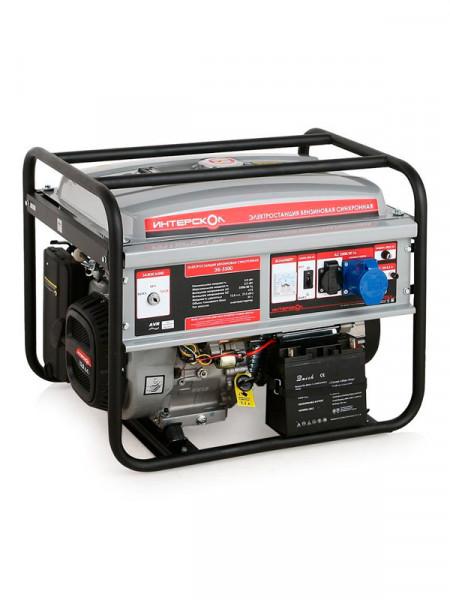 Бензиновий електрогенератор Интерскол эб-2500