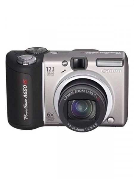Фотоапарат цифровий Canon powershot a650 is