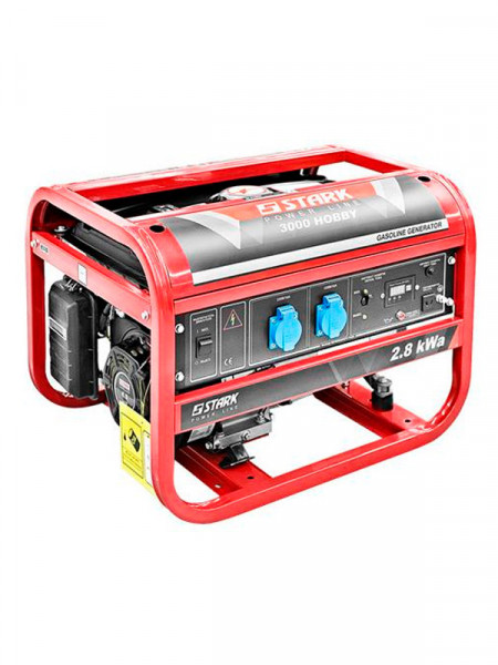 Бензиновый электрогенератор Stark 3000 hobby