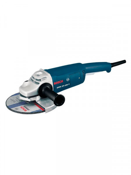 Угловая шлифмашина 2200Вт Bosch gws 22-230 h