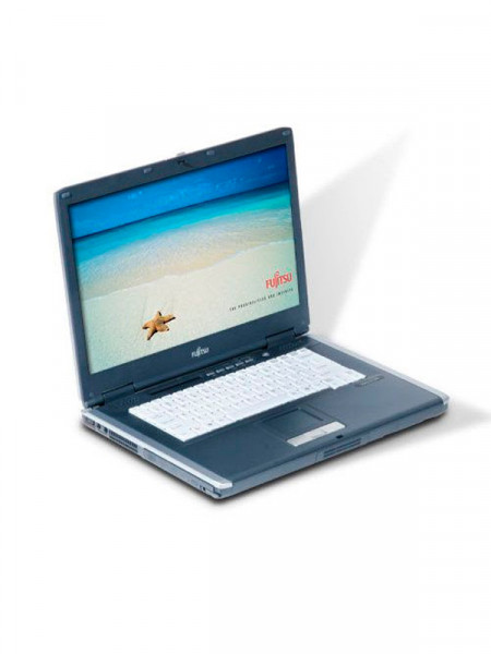 "Ноутбук экран 15,4"" Fujitsu Siemens pentium m 2,0ghz/ ram1024mb hdd100gb dvd rw"