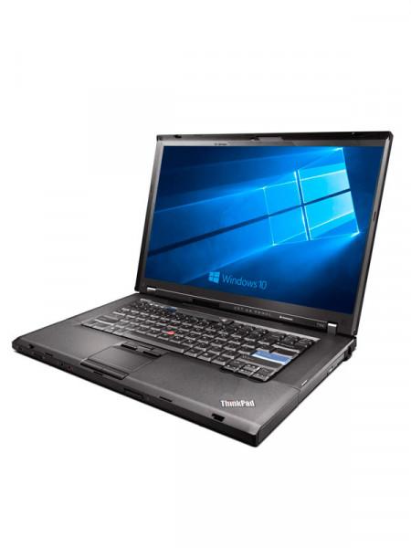 "Ноутбук экран 14,1"" Lenovo core 2 duo p8700 2,26ghz/ ram4gb/ hdd160gb/ dvdrw"