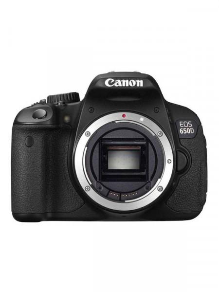 Фотоаппарат цифровой Canon eos 650d без объектива