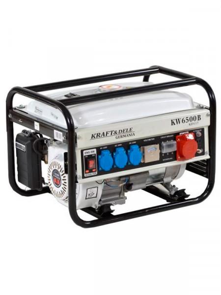 Бензиновий електрогенератор Kraft&Dele kw 6500 b