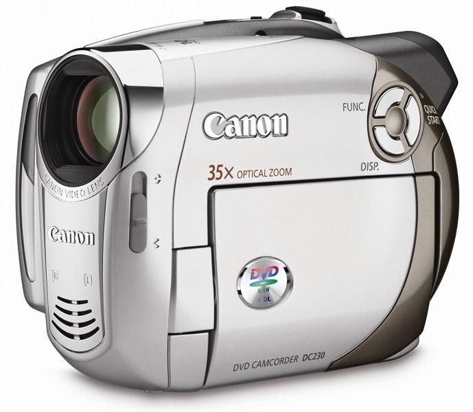 Відеокамера цифрова Canon dc 230
