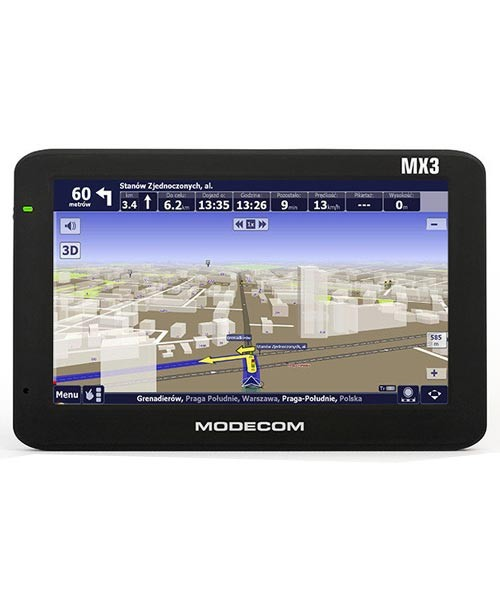 Gps навігатор Modecom freeway mx3