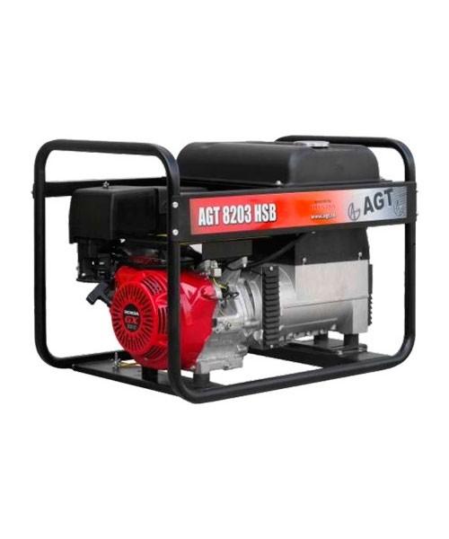 Бензиновий електрогенератор Agt 8203hsb