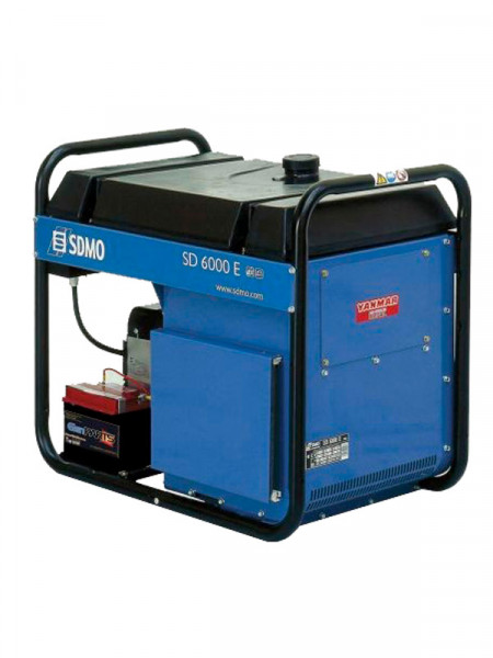Бензиновый электрогенератор Sdmo sd 6000 e