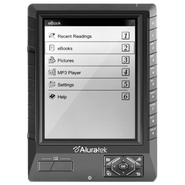 Электронная книга Aluratek libre pro ebook aebk01f