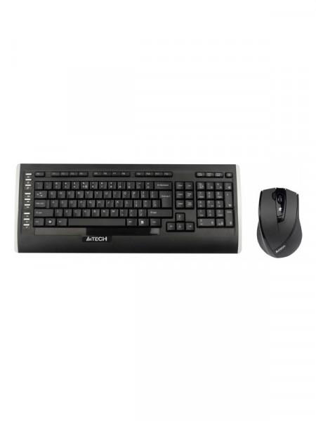 Клавиатура с мышкой беспроводные A4 Tech 9300f