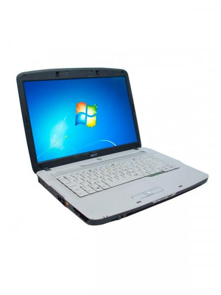 "Ноутбук екран 15,4"" Acer celeron m 530 1,7ghz/ ram1024mb/ hdd60gb/ dvd rw"