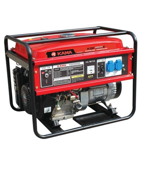 Бензиновий електрогенератор Kama kge 6600 e