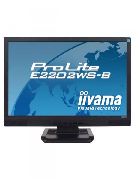Монітор  22  tft-lcd Iiyama e2202ws-b1