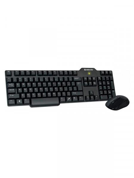 Клавиатура с мышкой беспроводные Defender accent 965 nano