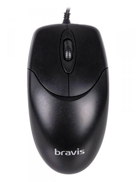 Мишка комп'ютерна Bravis m628black