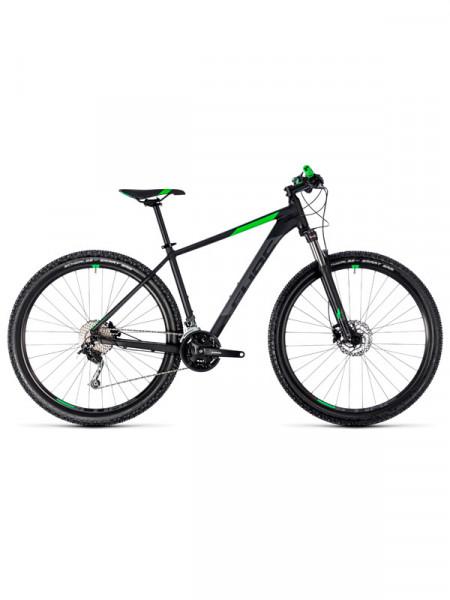 Велосипед Cube aim sl 29 black-flashgreen