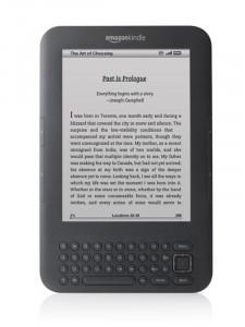 Amazon kindle 3 (d00901)