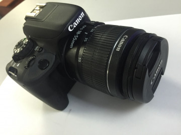 03-886-01240 Фотоаппарат цифровой Canon eos 100d kit 18-55mm ef-s is stm