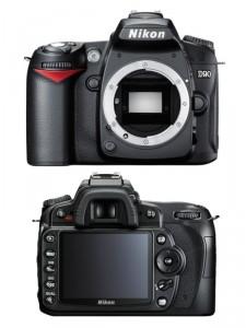 Nikon d90 без объектива